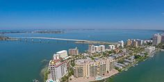 This 2 bed/2 bath unit features an open great room floor plan with gorgeous natural Florida sunlight from every angle. Enjoy the stunning views of Sarasota Bay and the John Ringling Bridge. The open kitchen features tile flooring, light cabinetry, and plenty of storage. Large master bedroom and bathroom with dual sinks and ample closet space. Relax in your master bedroom with beautiful serene views of the waterway. The second bedroom is perfect for guests and offers views of the bay as well…