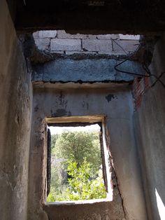 Old window ruin nearby Paklenica/Gracac, Croatia. Photographed by Marleen van de Kraats, no photoshop or paint etc.