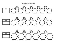 bears frames and arrows/fill in the addition pattern
