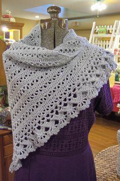 Crochet Shawl by hendersonmemories on Etsy, $60.00