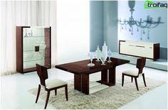 Jedálenský stôl - 75 foto nápady do kuchyne