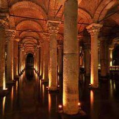 Basilica Cistern - Old Istanbul,Turkey Visit Istanbul, Hagia Sophia, Grand Bazaar, Worldwide Travel, Turkey Travel, Istanbul Turkey, The Good Place, Beautiful Places, Amazing Places