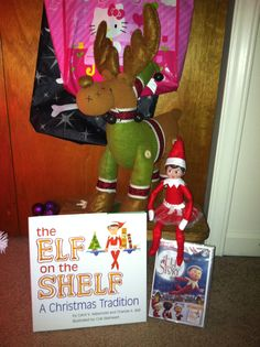 Elf On The Shelf Arrives
