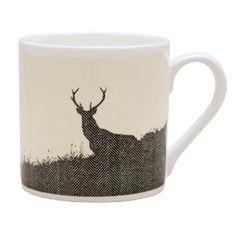 Heal's   Tweed Stag Mug - Mugs - Tea & Coffee - Kitchen