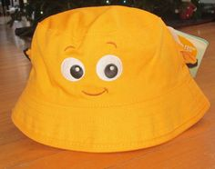 ce6918bbf33 New Disney Store Yellow Nemo Hat Baby 6-12 Months UPF 50+ Summer Beach Sun  NWT  Disney  Bucket