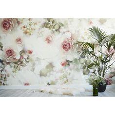Incandescent Rose Wallpaper - by Ellie Cashman Design