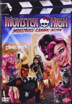 DVD. Monster High: ¡monstruos! ¡cámara! ¡acción!