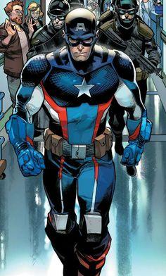 Captain America (Steve Rogers) by Pepe Larraz