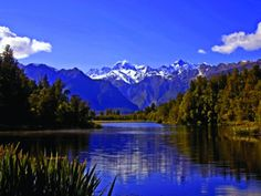 Lake Matheson - 101 Must-Do's for Kiwis. View the full list at www.aatravel.co.nz/101