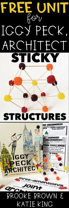 FREE Storybook STEM Unit for Iggy Peck, Architect! Elementary STEM Challenges | Language Arts