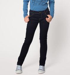 Jeans termici nei jeans blu scuro 15