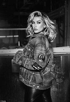 Stunning: She models the Guess Originals 1981 Anniversary Capsule collection