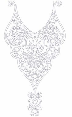 Super embroidery designs for kurtis neckline hand Ideas Bordados Tambour, Tambour Embroidery, Hand Embroidery Patterns, Ribbon Embroidery, Beaded Embroidery, Beading Patterns, Cross Stitch Embroidery, Machine Embroidery, Wire Wraping