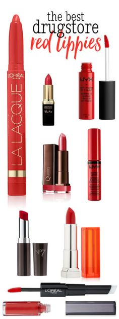 Red lippies are a classic. Whether you want a dark red, matte lip or a lighter and brighter glossy red lip, the fall and holiday season are the perfect time to wear them! The great news is that there...