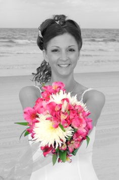 bride with bouquet Wedding Bride, Our Wedding, Wedding Flowers, Wedding Ideas, Wedding Photography, Boutonnieres, Bridal, Grooms, Bouquets