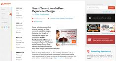 Smart Transitions In User Experience Design