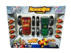 Marvel Regener8'rs Avengers Vehicles 2 Pack | Atlanta Snacks & Things Home
