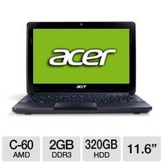 Tigerdirect Computer Deal Acer Aspire One AO722-0473 11.6