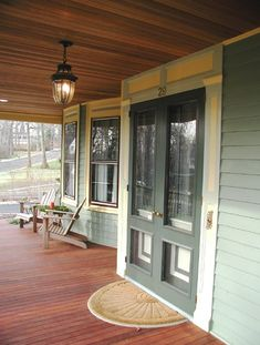 New Jersey Colonial Revival - porch/ entry way