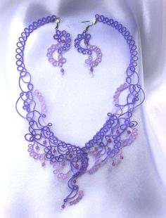 Winners of the 2014 Show 'n Tell Contest : The Tatting Corner: Supplies for Crocheting, Lacemaking, Tatting.  WOW!  How cool is this piece?!!!