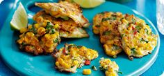 Quick and easy fritters the whole family will enjoy! These tasty bites are great as a snack, starter and even a main served with spiced wedges and a salad.