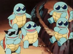 Gang do squirtle do ash - Pesquisa Google