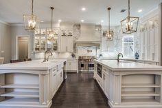 Elegant Kitchens, Luxury Kitchens, Beautiful Kitchens, Home Kitchens, Custom Kitchens, Dream Kitchens, Luxury Kitchen Design, Dream Home Design, House Design