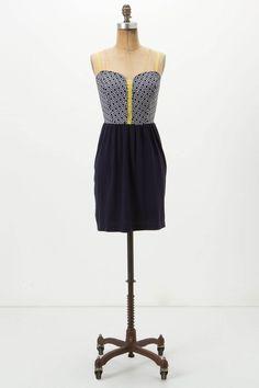 Summer dress. #Anthropologie