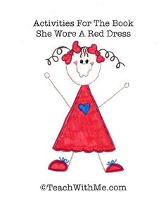 Classroom Freebies: Activities To Go With She Wore A Red Dress