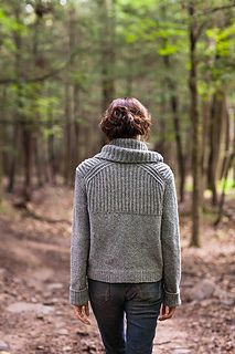 pattern 'Oshima' sweater by Jared Flood ravelry.com $7.00USD knitted in yarn Brooklyn Tweed LOFT Fingering / 4 ply (14 wpi)