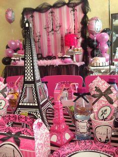 Paris Birthday Party Ideas | Photo 1 of 20