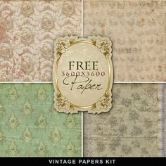 Freebies Vintage Papers