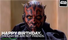 Happy Birthday: We're Not Friends