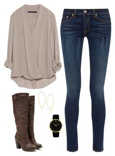 """""""Chill Mama"""" by nr-246 on Polyvore featuring rag & bone, Forever 21, Zara, Lana and Larsson & Jennings"""