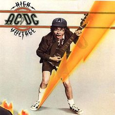 AC/DC High Voltage compact disc