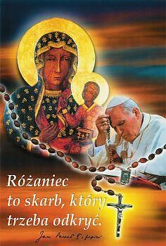 "♕ ""The rosary is a treasure to be  rediscovered."" John Paul II, Pope"