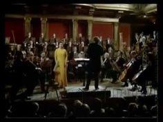 Malher symphonie n° 4 Leonard Bernstein à la direction de l'orchestre de vienne