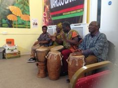 African Drumming at Haringey's Cultural Event Summer 2013