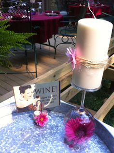 DIY Wine party ideas