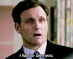 i had to save you.you didn't save me!