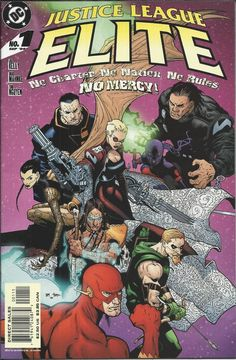 DC Justice League Elite comic issue 1