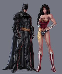 Part of the Justice League piece I did inspired by the work of Jim Lee: .Of course I had to create a separate picture with these two beaut. Batman and Wonder Woman Comic Book Characters, Comic Book Heroes, Comic Books, Comic Art, Comic Pics, Chun Li, Marvel Dc, Marvel Comics, Superman