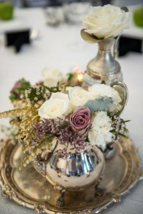Floral, Styling by Poetry & Lace Events. Vintage Glamour Wedding