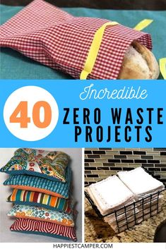 Easy Sewing Projects, Sewing Projects For Beginners, Sewing Crafts, Craft Projects, Fabric Crafts, Sewing Ideas, No Waste, Reduce Waste, Thing 1