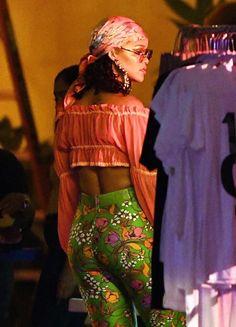 Rihanna ∞ — June 5: Rihanna on set of a music video in Miami.