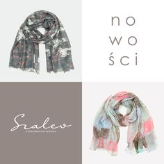 Our new arrivals: light scarves. #scarf #pastel Szaleo.pl   Be new fashioned & accessorized!