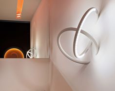 wallpiercing' by ron gilad for flos