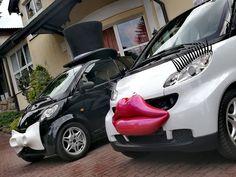 #SmartCar #WeddingCar #FunnyCar #SmartPara #ZwariowaneWesela  www.smart-line.pl Crazy Wedding, Wedding Car, Smart Car, Vogue, Funny, Funny Parenting, Hilarious, Fun, En Vogue