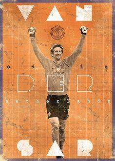 Oranje's Edwin Van Der Sar The Gods Of Football (Part II) on Behance