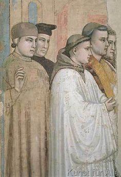 Giotto di Bondone - Tod des Heiligen Franz von Assisi
